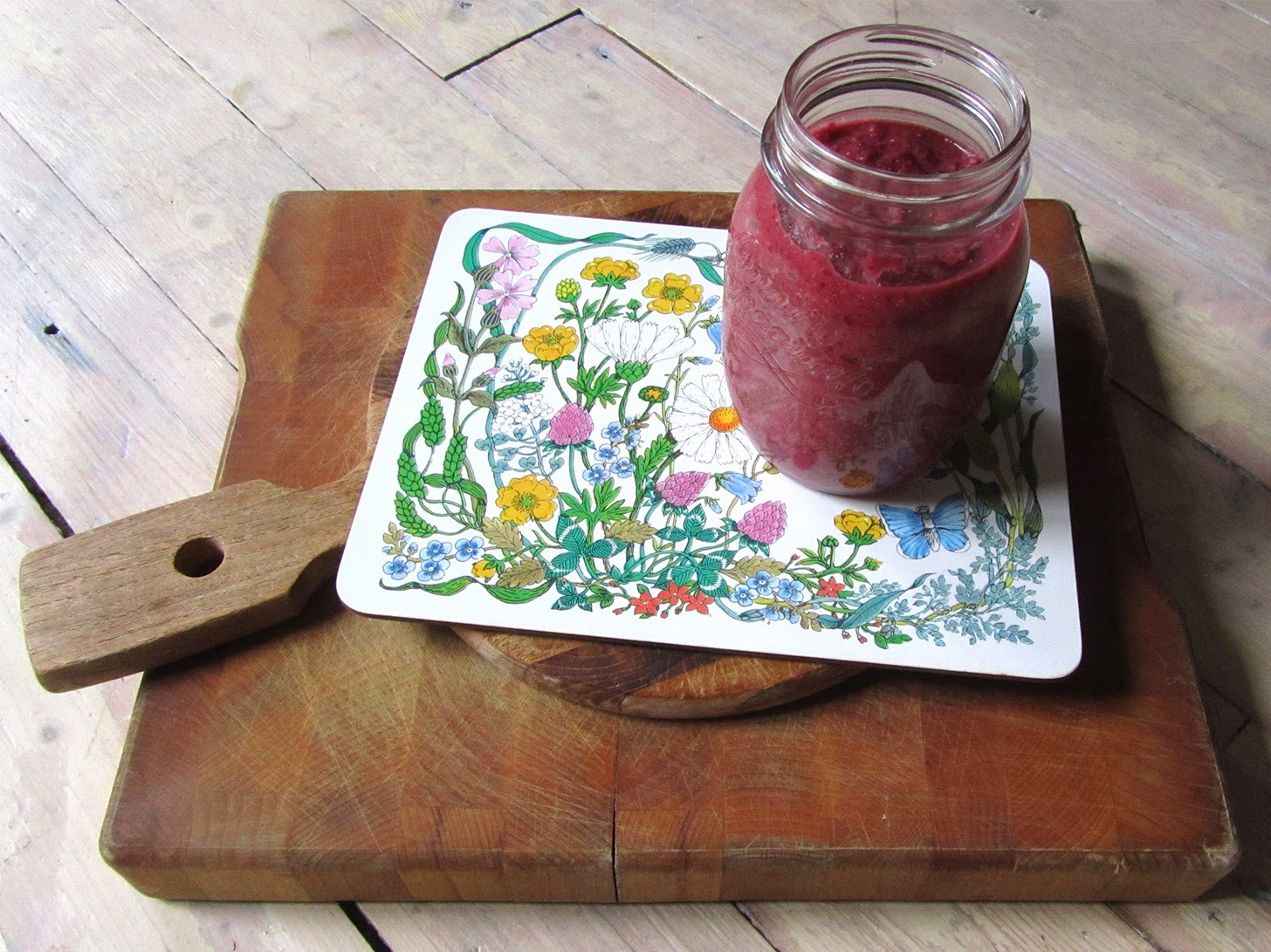 beet-apple smoothie