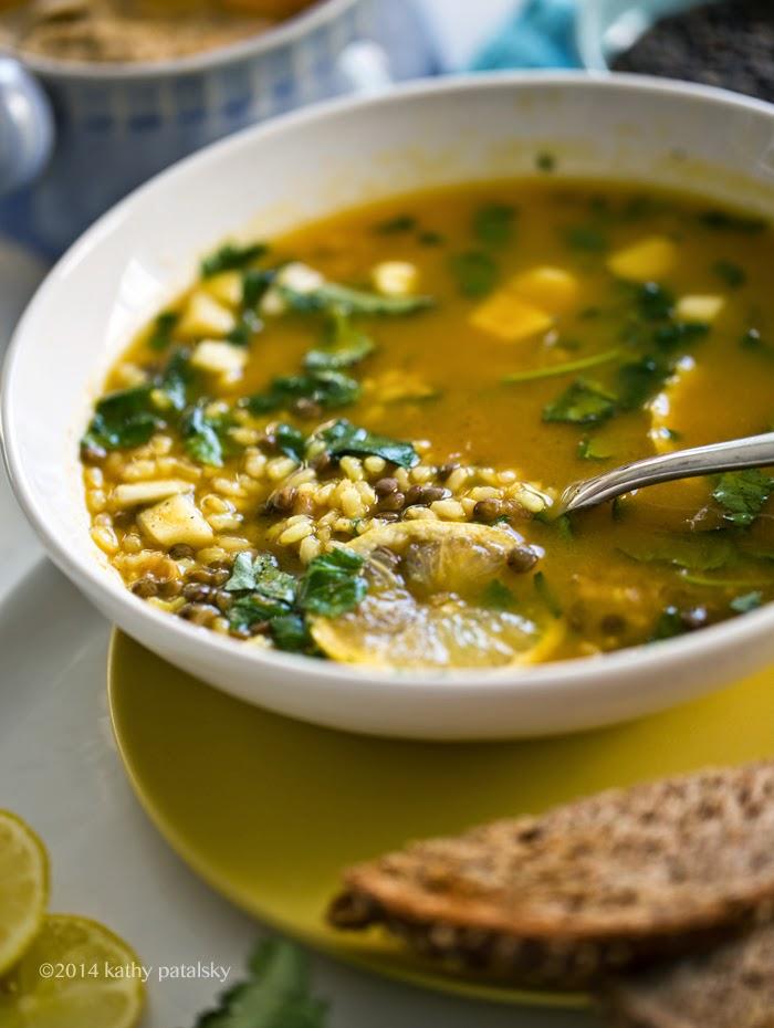 Lentil Soup With Lemon Recipe — Dishmaps