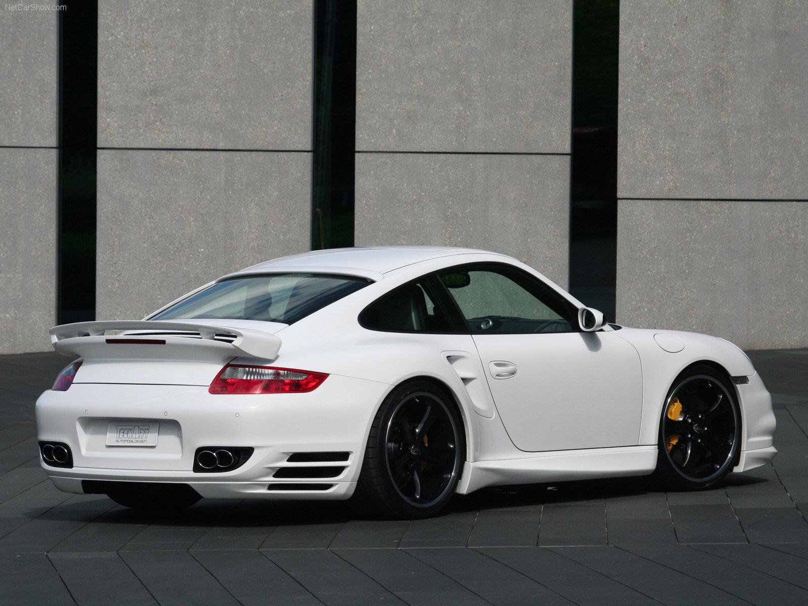 Hình ảnh xe ô tô TechArt Porsche 911 Turbo 997 2006 & nội ngoại thất