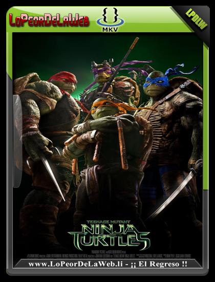 Las Tortugas Ninja (2014) BRrip 720p  Dual + DvdRip