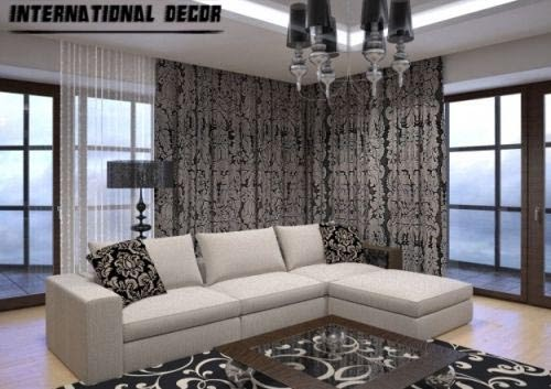 Art deco living room designs and furniture for Art deco living room design