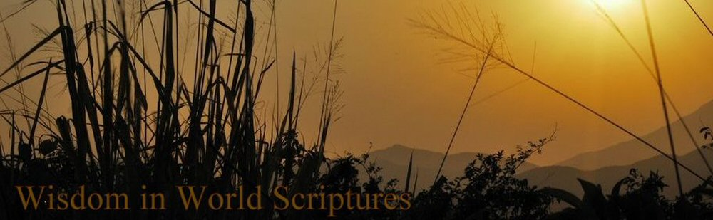 Wisdom In World Scriptures