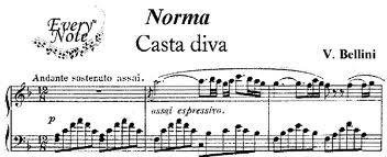 Casta diva maria callas norma - Norma casta diva testo ...