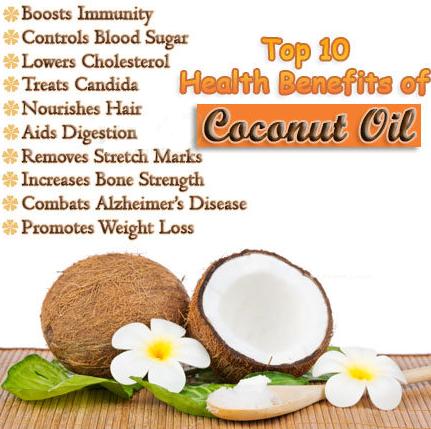 नारियल के स्वास्थ्य और औषधीय गुण