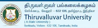 Thiruvalluvar University 2013 CBCS Results