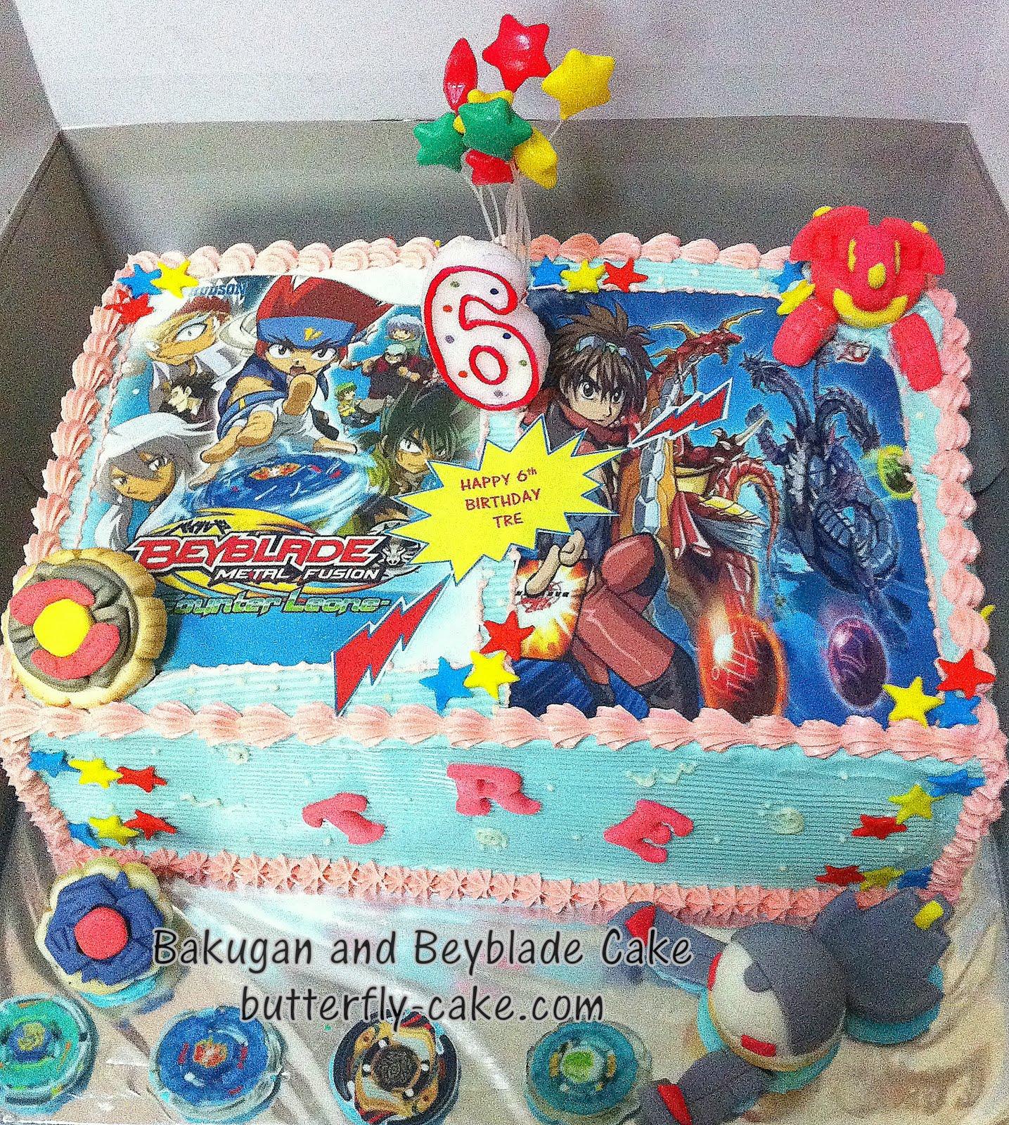 Bakugan Birthday Cake Walmart