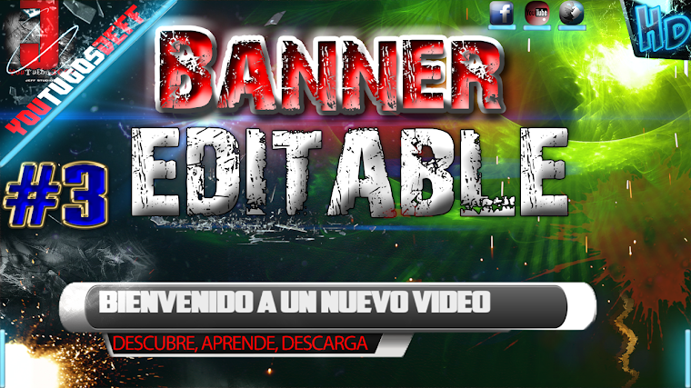 BANNER EDITABLE #3 CON AFTER EFFECTS CS6 | 2015