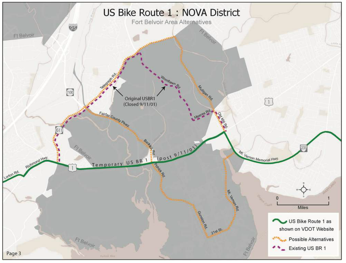 Blog Fairfax Alliance For Better Bicycling FABB - Us bike route 1 map