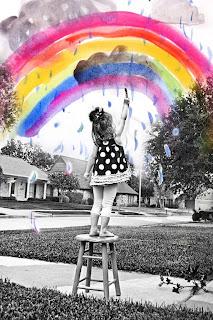 La imaginación es el pincel con el que el niño pinta sus mejores aventuras