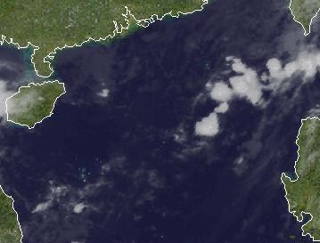 BANYAN hat es sich anders überlegt - statt Tropischer Sturm nun aufgelöst, Washi, Banyan, Taifunsaison, 2011, 2012, aktuell, Oktober, Satellitenbild Satellitenbilder, Vietnam, Laos, Thailand, Kambodscha,