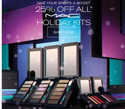 Hudson's Bay MAC Holiday Kits 25% Off  + Extra 10% Off