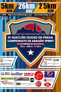 IV DUATLON CIUDAD DE FRAGA