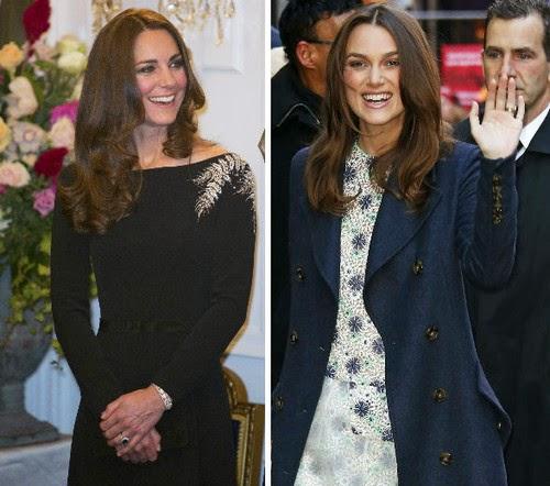 Yikes! Keira Knightley looks like Duchess Kate