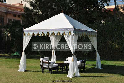 Unique Wedding Tent