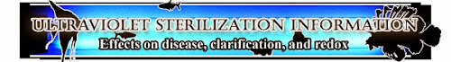 Aquarium UV Sterilization, sterilizer use, heater information