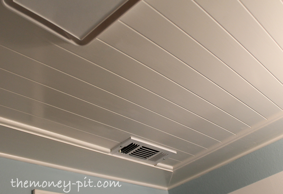 . Installing a Beadboard Ceiling   The Kim Six Fix