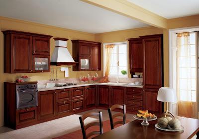 Desain Dapur Klasik