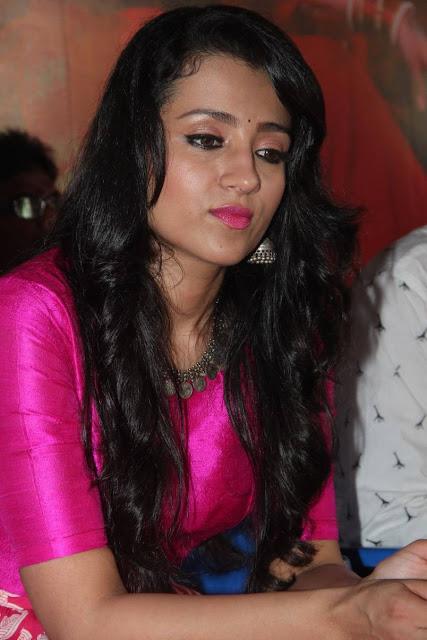 Trisha Latest Photos At Nayagi Movie Launch