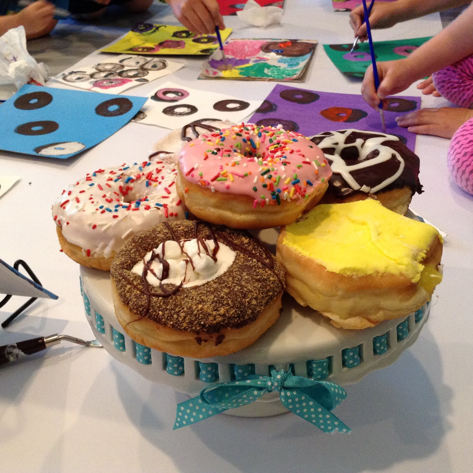 A weekend with wendell lesson plan - I Did This Lesson With A Couple Of Groups This Summer And I M So Excited To Share It With You Today I Plan To Do This Donut Painting With My 5th Grade