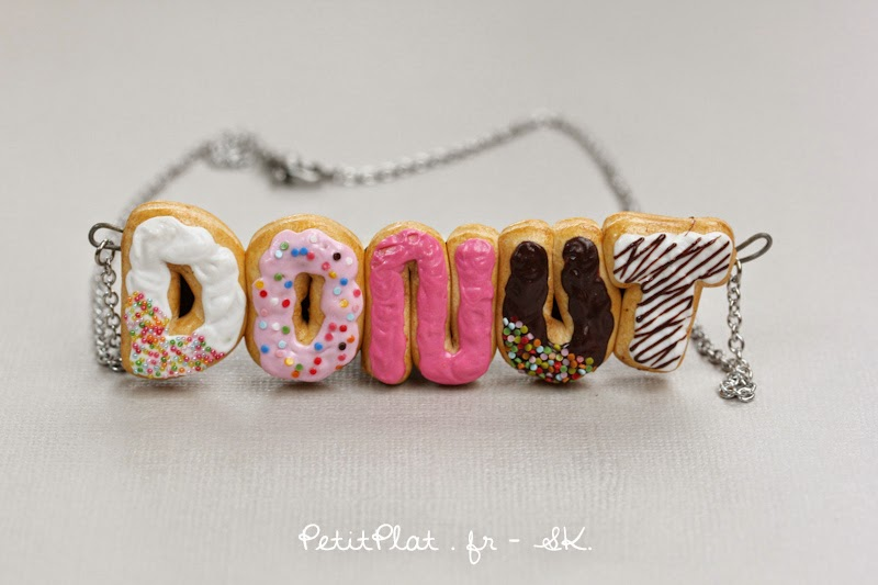 Donuts Necklace / Collier Donut