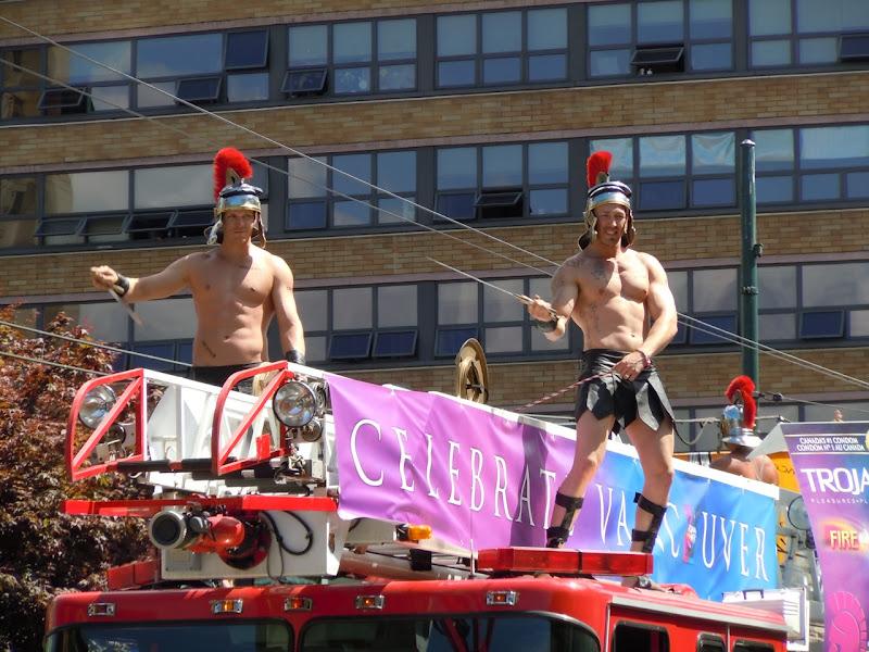 Vancouver Pride Parade Trojan Muscle