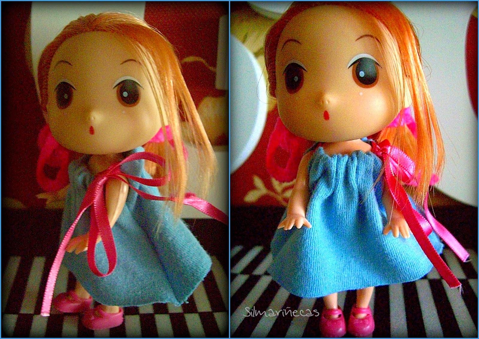 cómo hacer un vestido fácil y barato para muñecas
