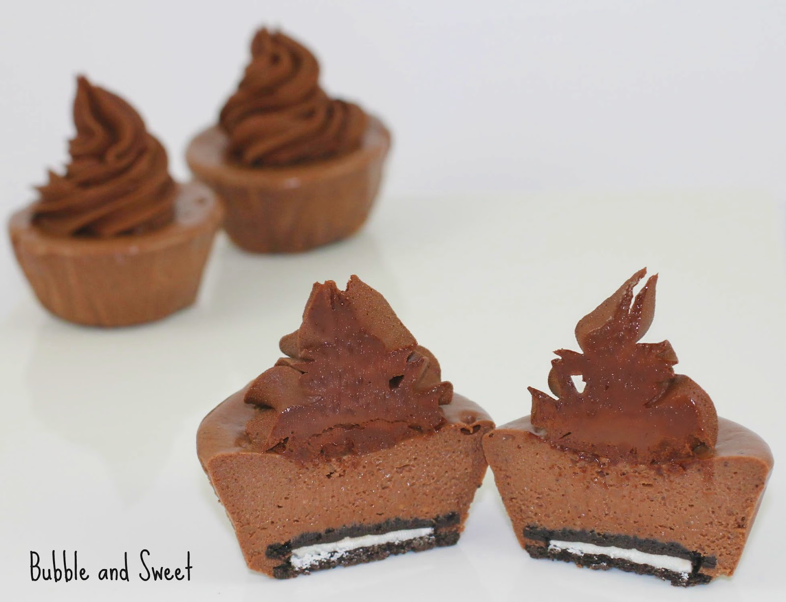 ... favorite things Cheesecakes - Mini Chocolate Cheesecakes with Nutella