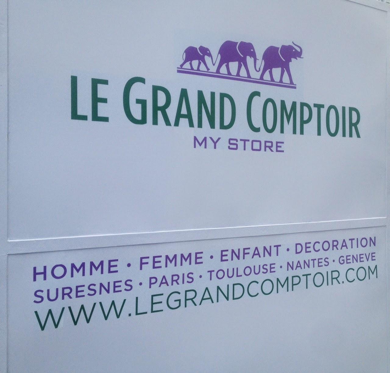 Le Grand Comptoir sign