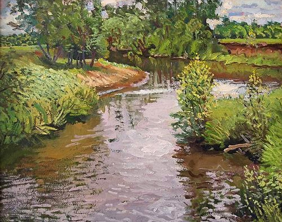 Cuadros modernos pinturas y dibujos modernos paisajes for Cuadros al oleo modernos