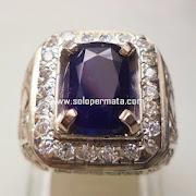 Batu Permata Blue Sapphire - 10J02