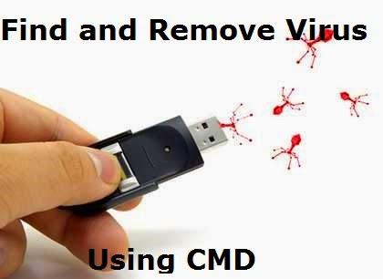 Remove virus using CMD