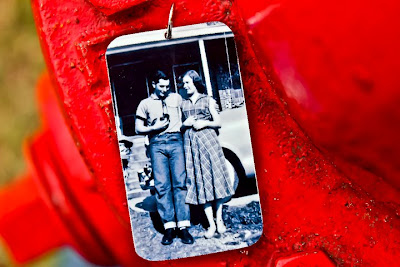 Dog Tag Pendant, photo from 1955