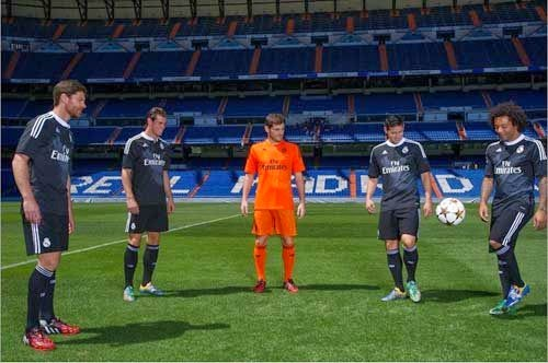 Real Madrid released a third kit for 2014/2015 season