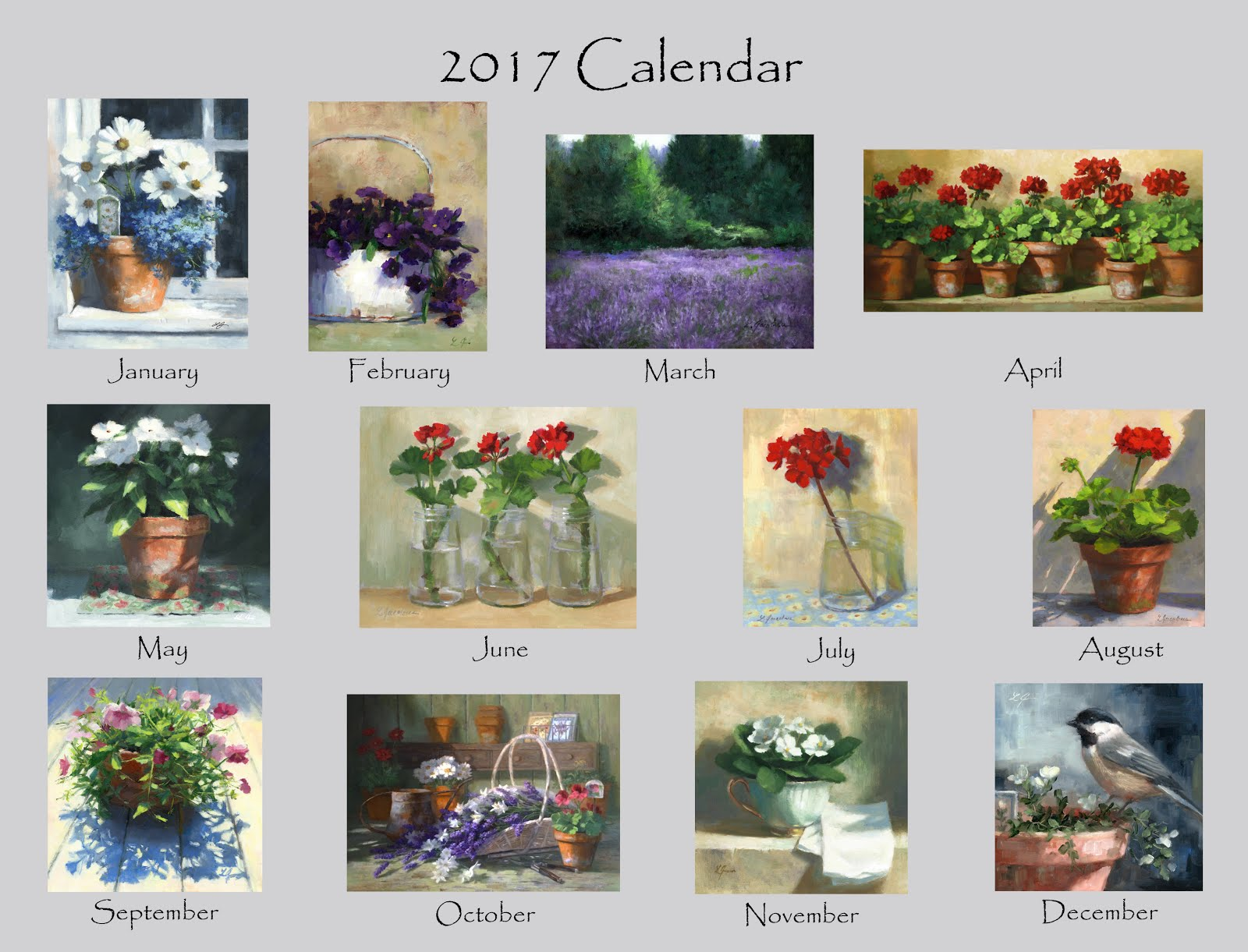 2017 Calendars Wall and Desk Sold Out
