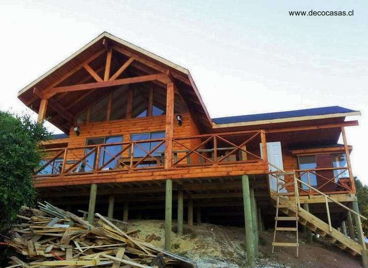 modelos casas de madera