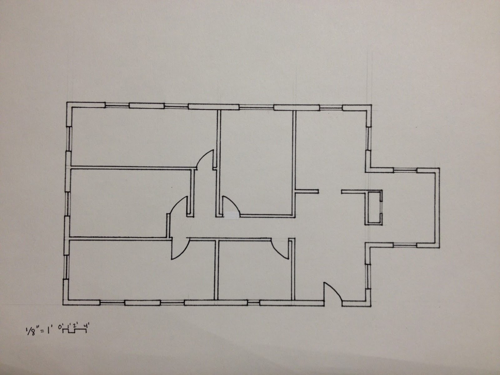 Final Plans And Sections. Nepal Plains House