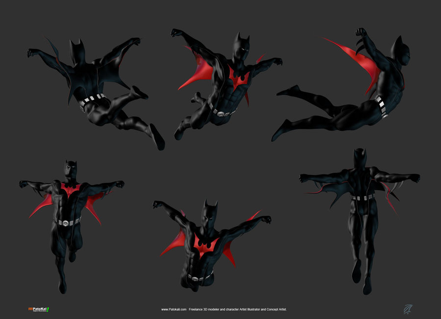 superhero morphsuits terry mcginnis the batman beyond