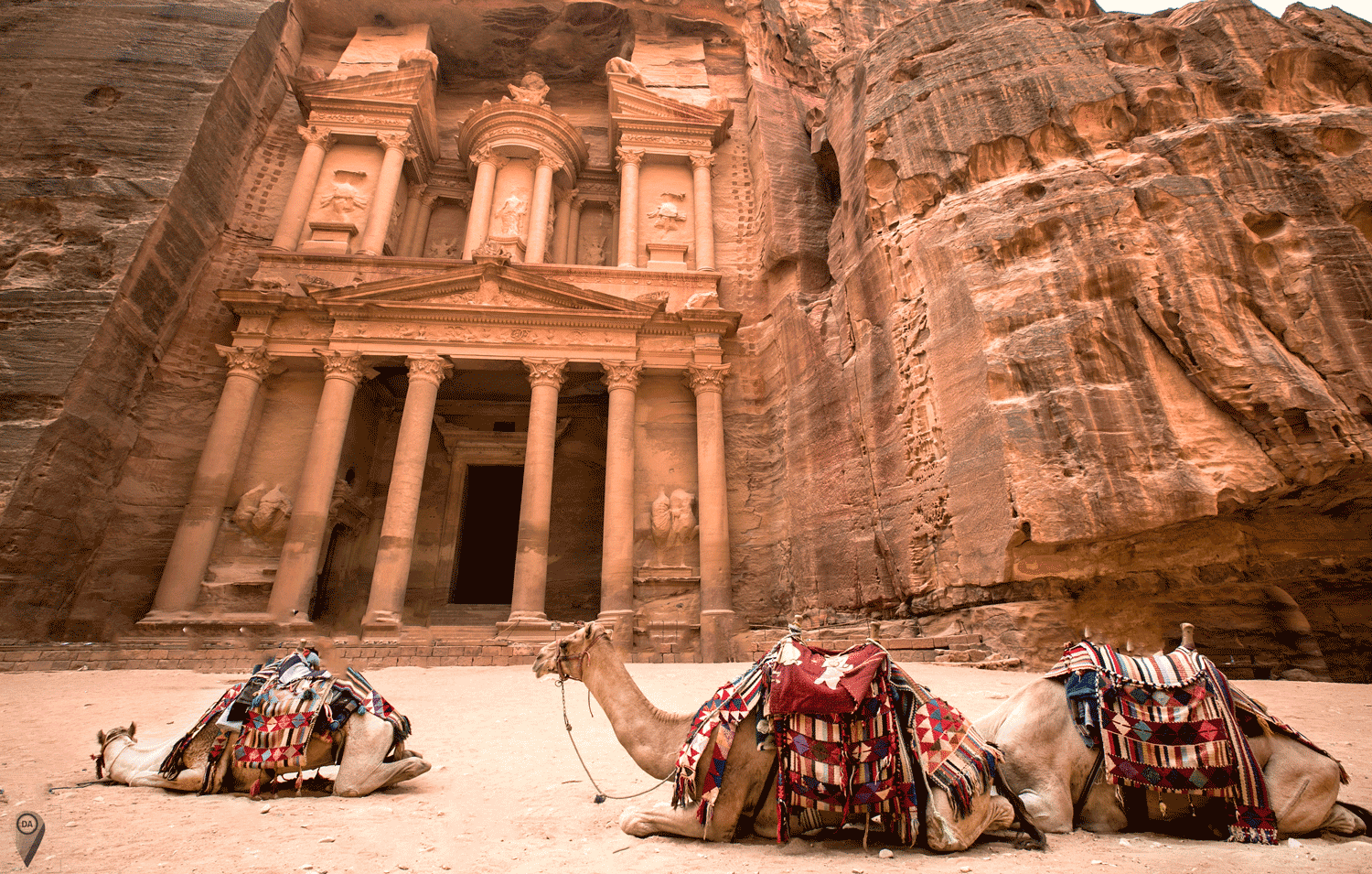 Let's travel the world!: The Ancient City of Petra in Jordan.