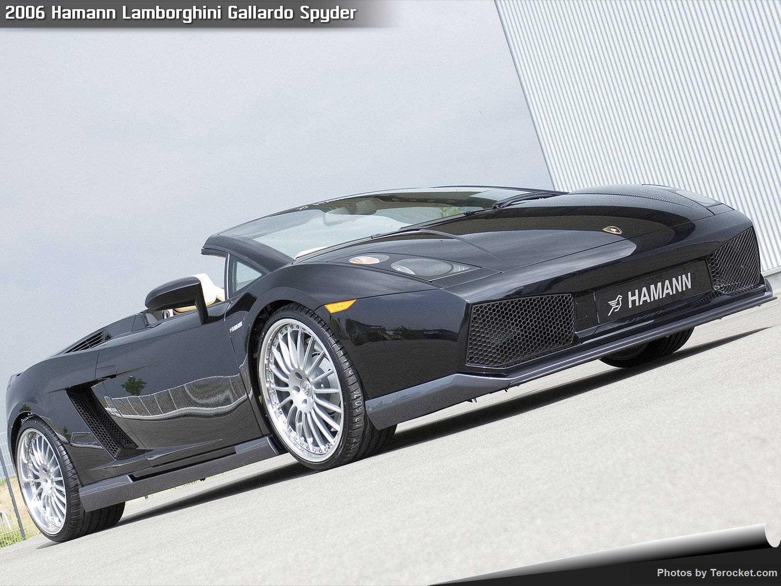 Hình ảnh xe ô tô Hamann Lamborghini Gallardo Spyder 2006 & nội ngoại thất