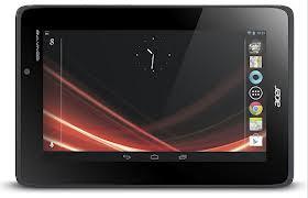 Spesifikasi dan Harga Acer Iconia Tab A110 Android 4.1 Prosesor quad-core 1.2GHz NVIDIA Tegra 3
