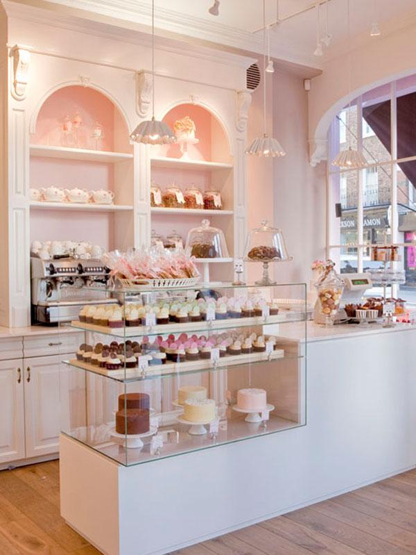 Peggy porschen um luxo de cupcakes em londres toque de for Italian interior design company names