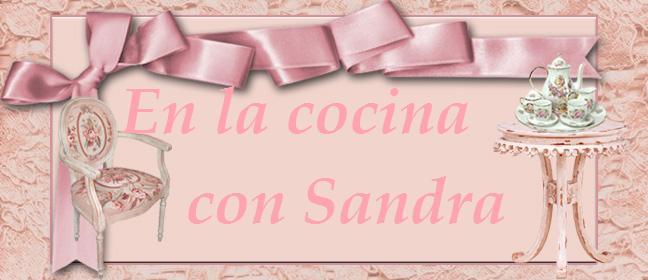 En la cocina con Sandra
