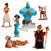 Figuras de Aladdín (Disney Store)