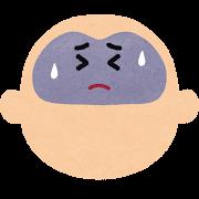 不健康な脳のキャラクター