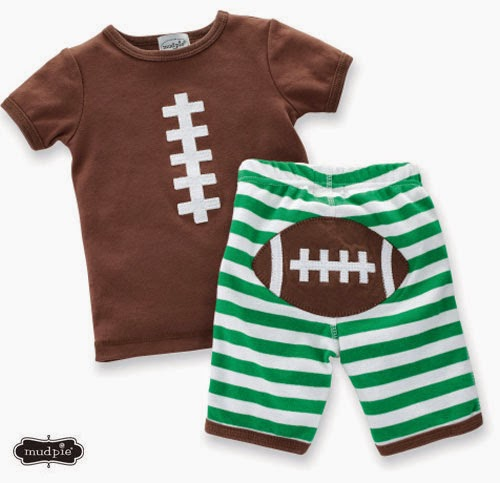 Baby Football 2-Piece Outfit