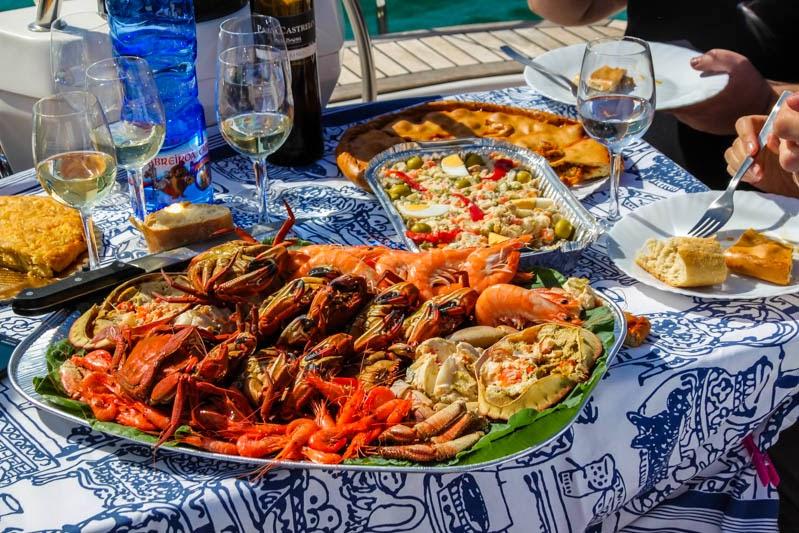 Disfruta del marisco gallego y del resto de su gastronomía