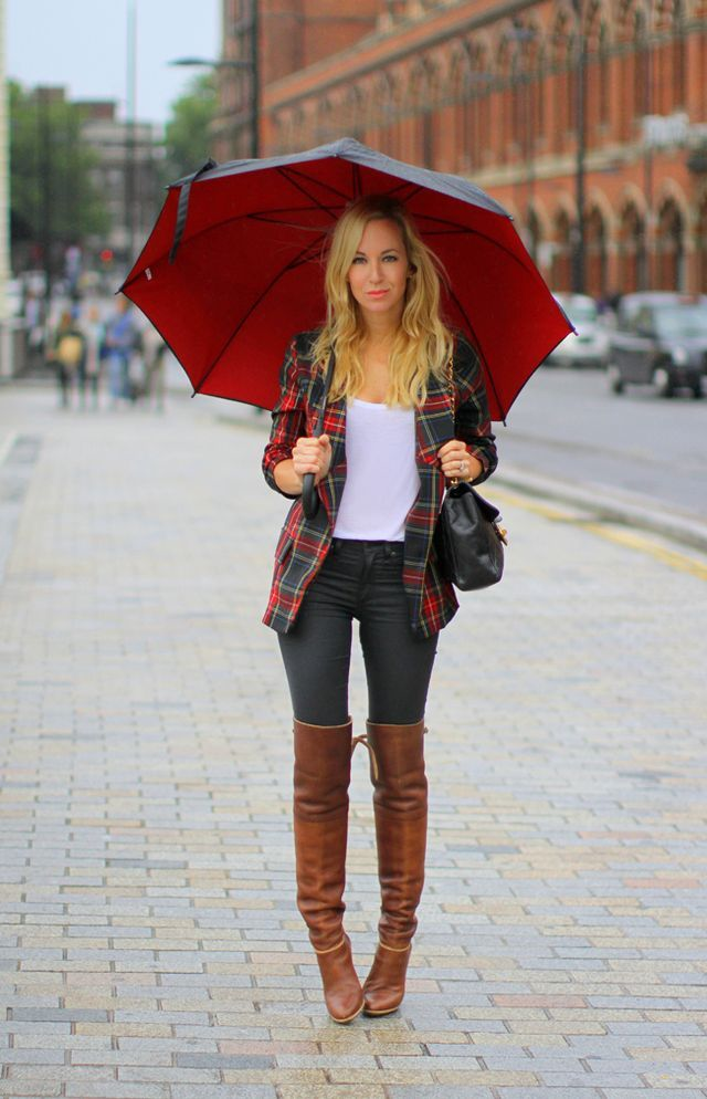 Brown Over The Knee Boots - Cr Boot