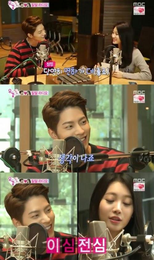 """Hong Jong Hyun: """"I think of Yura even when we're not filming"""""""