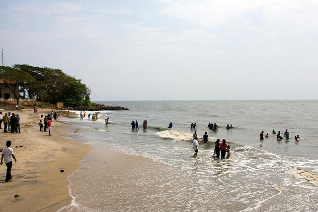 Fort Cochin beach in Kerala