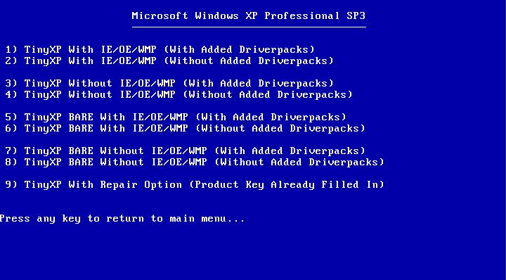 adddgawerd: TinyXP rev09 Mediafire - Windows XP SP3
